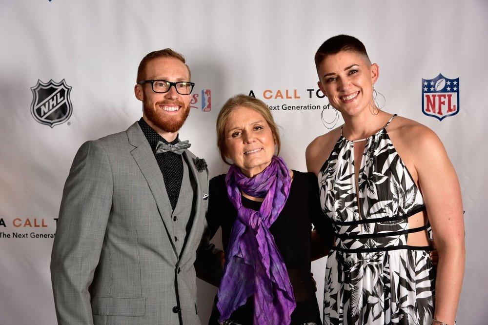 Jay Taylor, Gloria Steinem, Erica.jpg