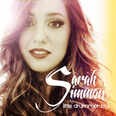 Sarah Simmons  Little Drummer Boy Holiday Produced & Engineered
