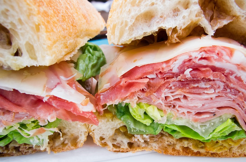 man food: meaty sandwich perfection at coppa