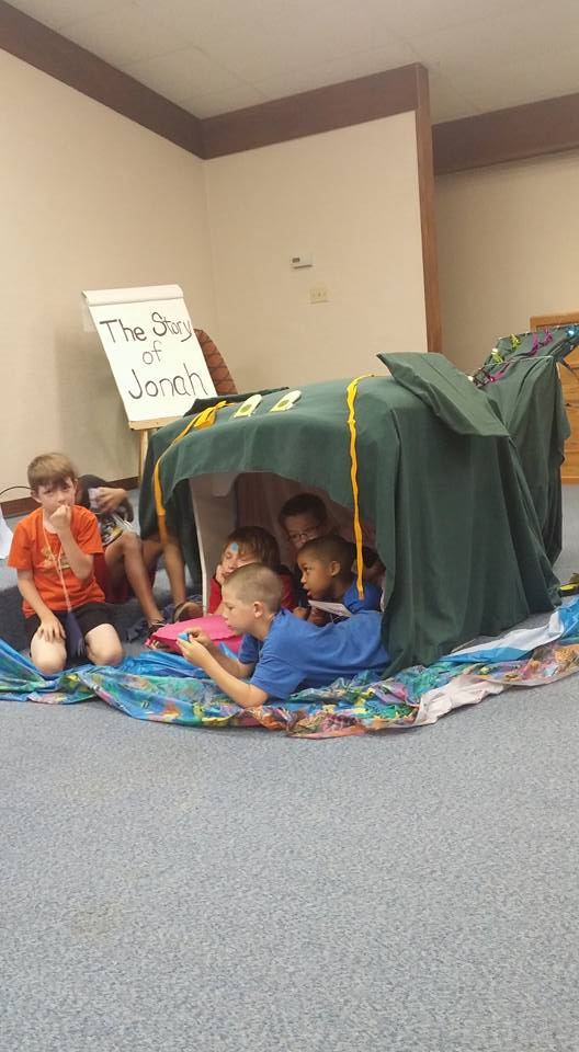 VBS 2016 Day 3, Jonah and the Big Fish
