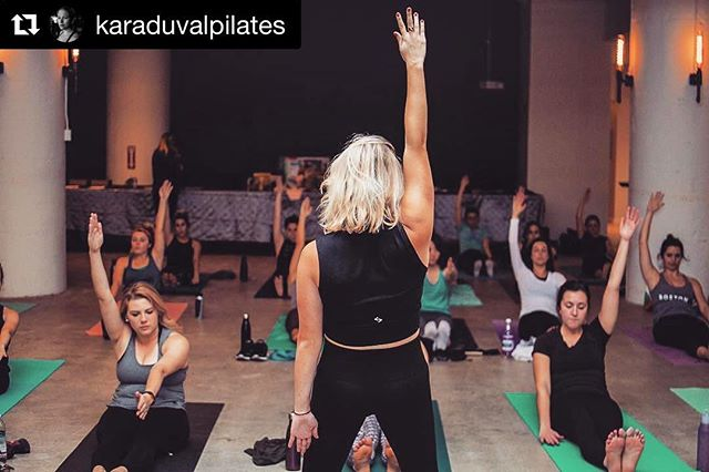 We love our resident Pilates instructor @karaduvalpilates's approach to workouts because really, it's our approach to life: show up, learn and adapt - without ego. It's that space where the magic happens! #Repost @karaduvalpilates ・・・ My teaching style isn't for everyone, I'm aware of that. I can't just let you move for the sake of it. I see it as my duty to teach you form, to teach you 'why', to drill it into your mind, to make the small movements of Pilates and Barre worth while. To me, it's not enough to show up. To me, you show up willing to learn, willing to adapt, ego at the door. I respect you if that's not what you're looking for in a class, and I respect you if you do, you have to find what works for you! ⚡️#pilatesforthepeople