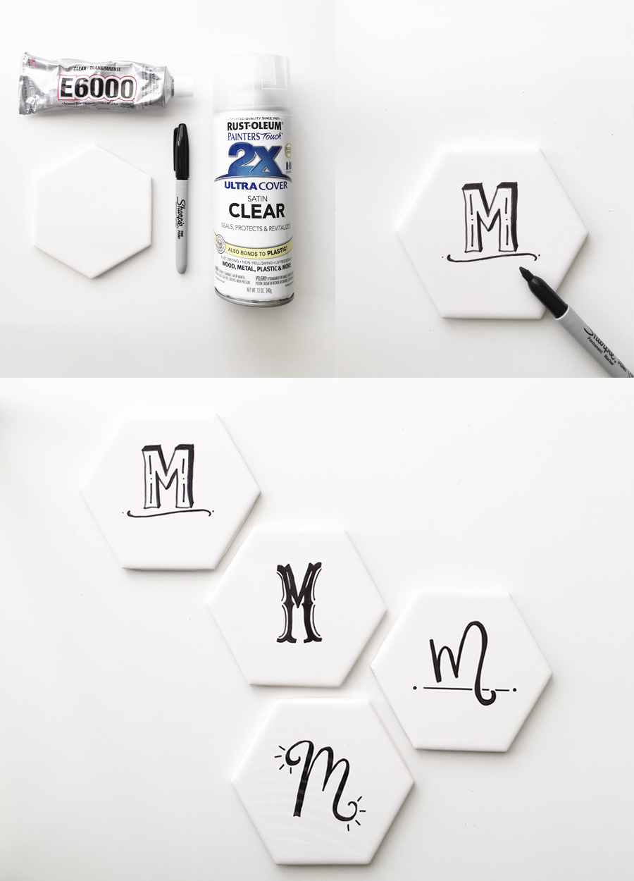 drawn-to-diy-hexagon-tile-coasters-with-initials-01
