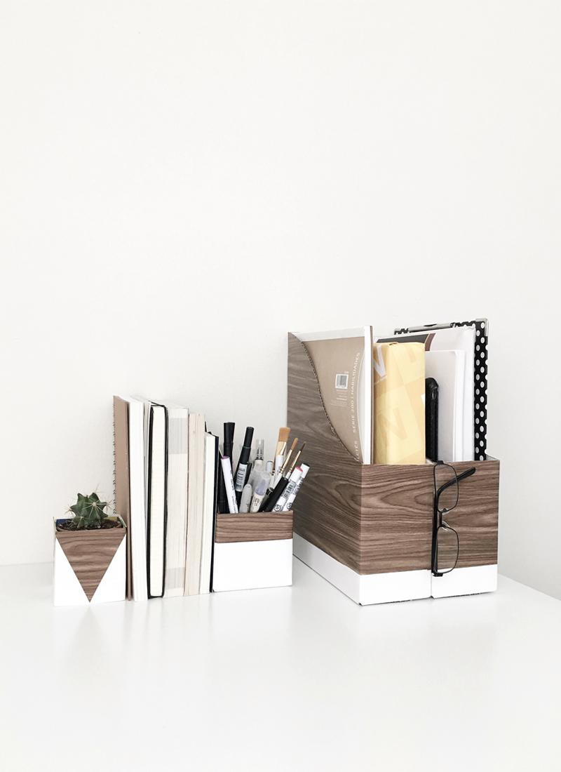 wood-and-white-desk-organizers-drawn-to-diy-02