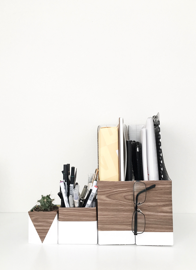 wood-and-white-desk-organizers-drawn-to-diy-03
