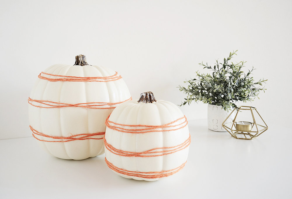 DIY 5-minute Pumpkin Decor by Drawn to DIY 03