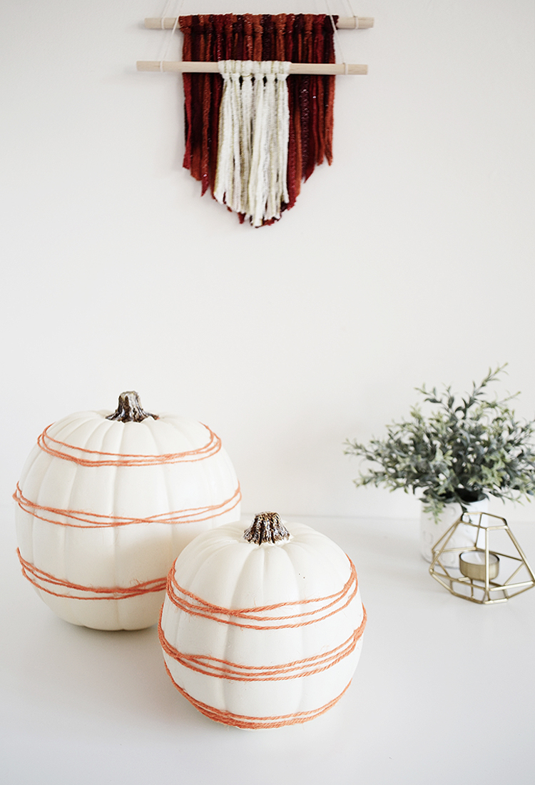 DIY 5-minute Pumpkin Decor by Drawn to DIY 04
