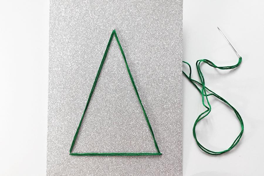 DIY Embroidered Cards @DrawntoDIY