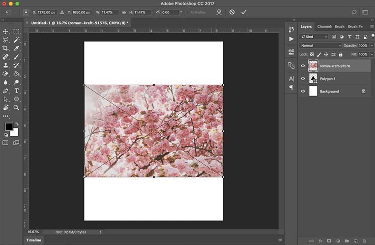 Photoshop Clipping Mask Tutorial | Drawn to DIY