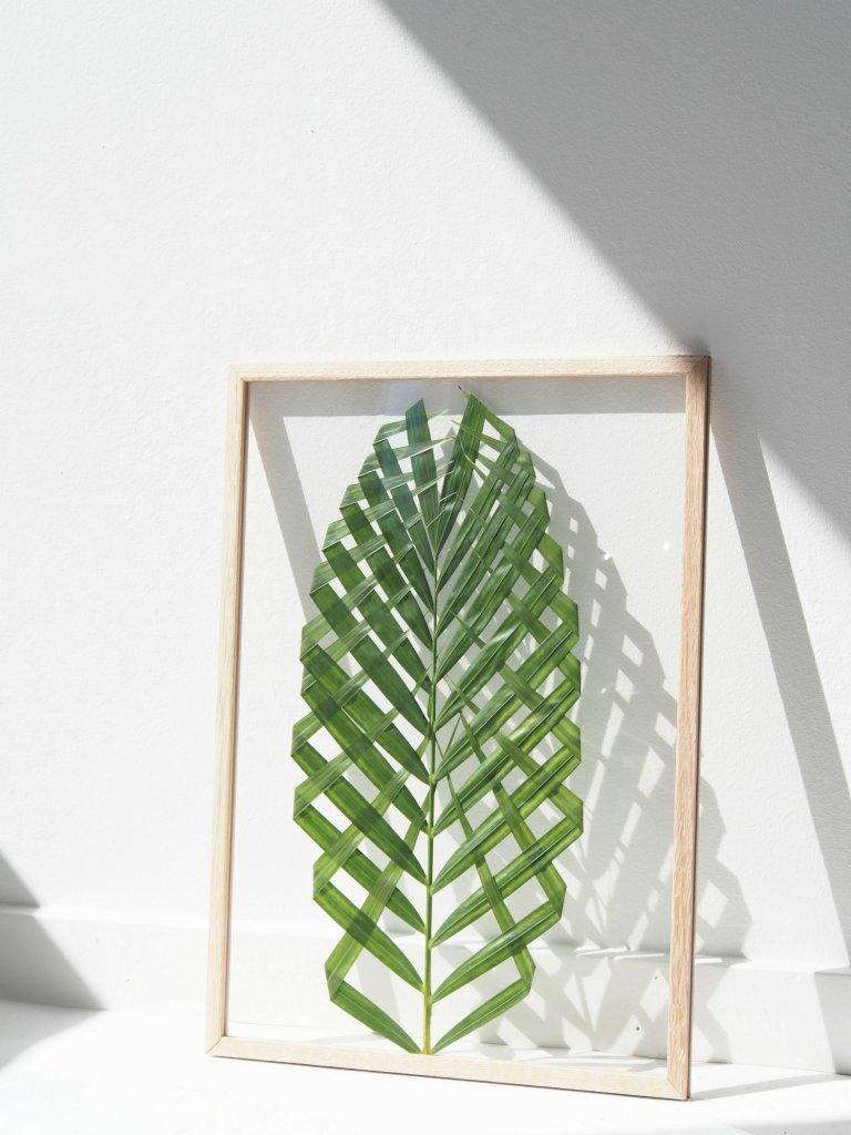 52 Weeks of DIYs | DIY Leaf Art by Monster Circus