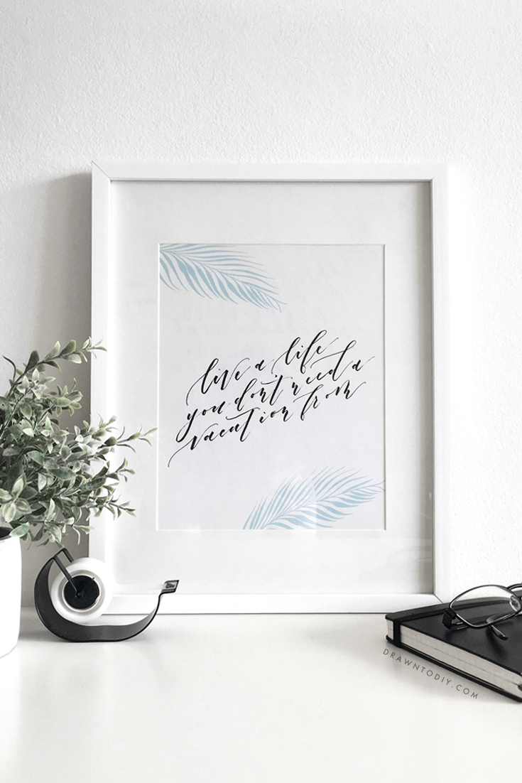 Free Printable | @DrawntoDIY