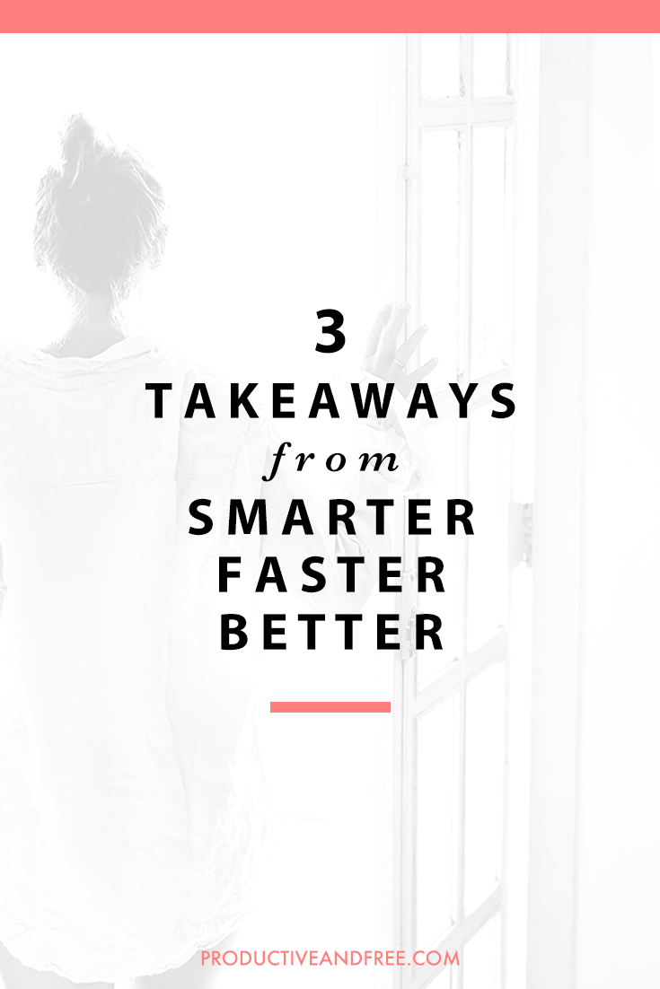 Smarter Faster Better by Charles Duhigg | 3 Takeaways | @DrawntoDIY