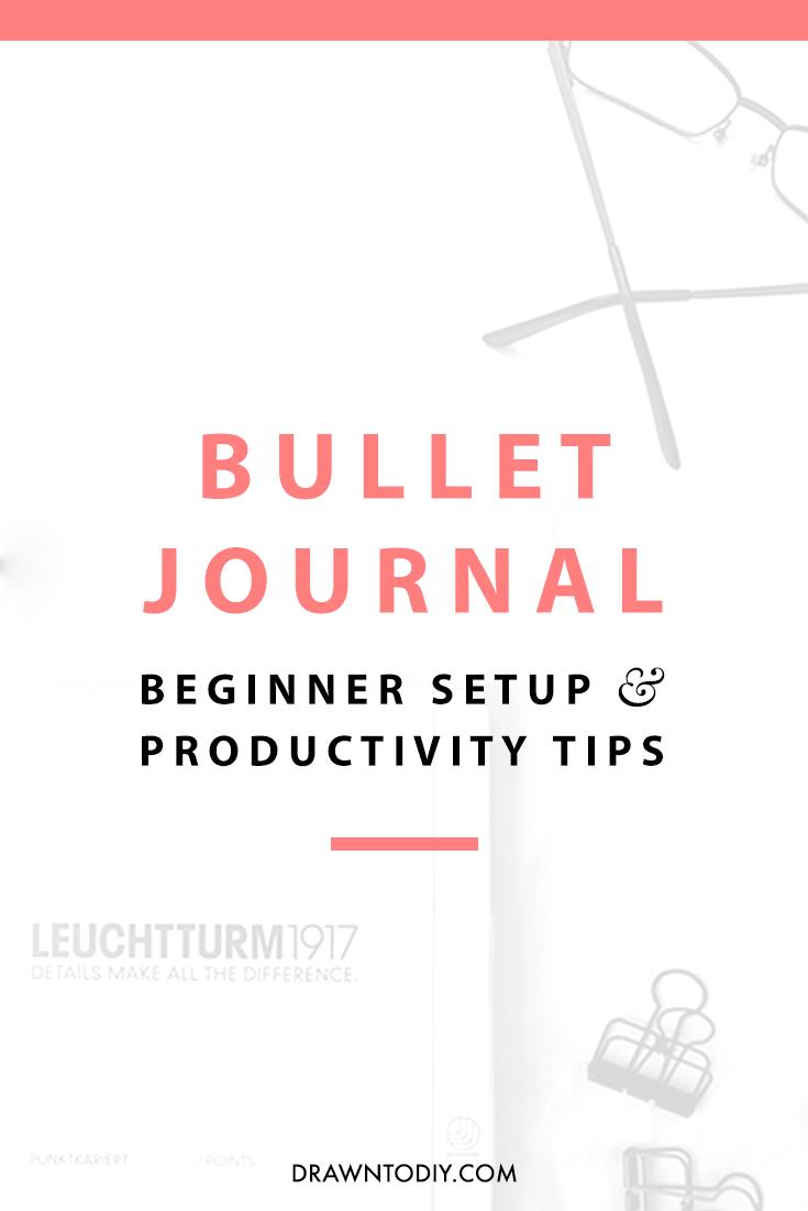 Bullet Journal Beginner Setup | DrawntoDIY.com