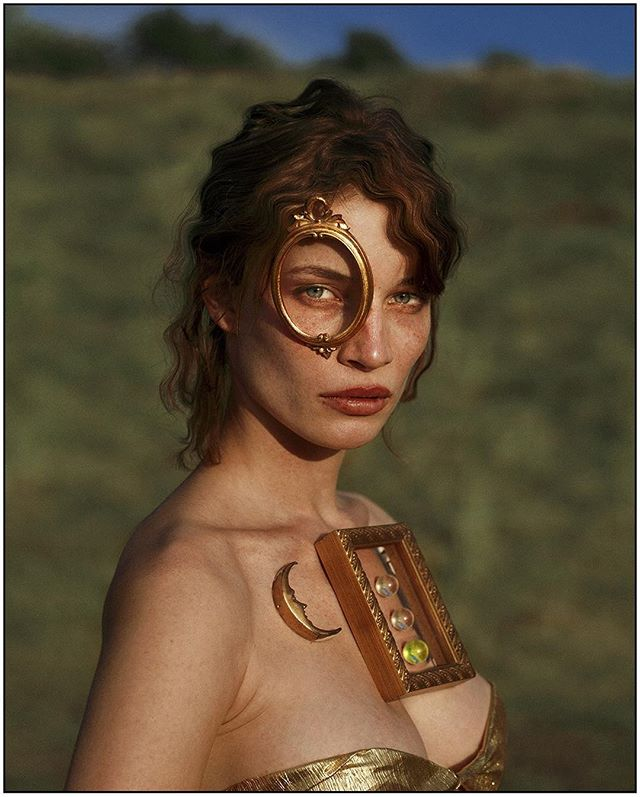 Portrait I;  The Manifestation of The Directed Will// Model: @laracooc  Clothing + assistant: @lorandlajos