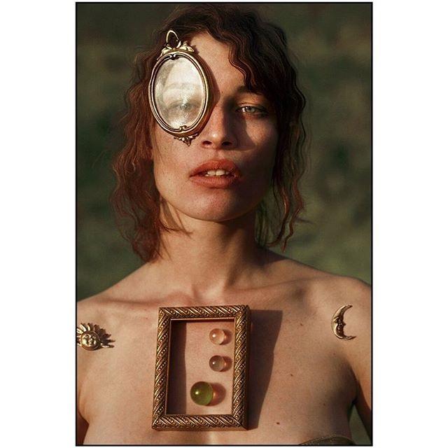 Portrait II;  The Manifestation of The Directed Will// Model: @laracooc  Clothing + assistant: @lorandlajos