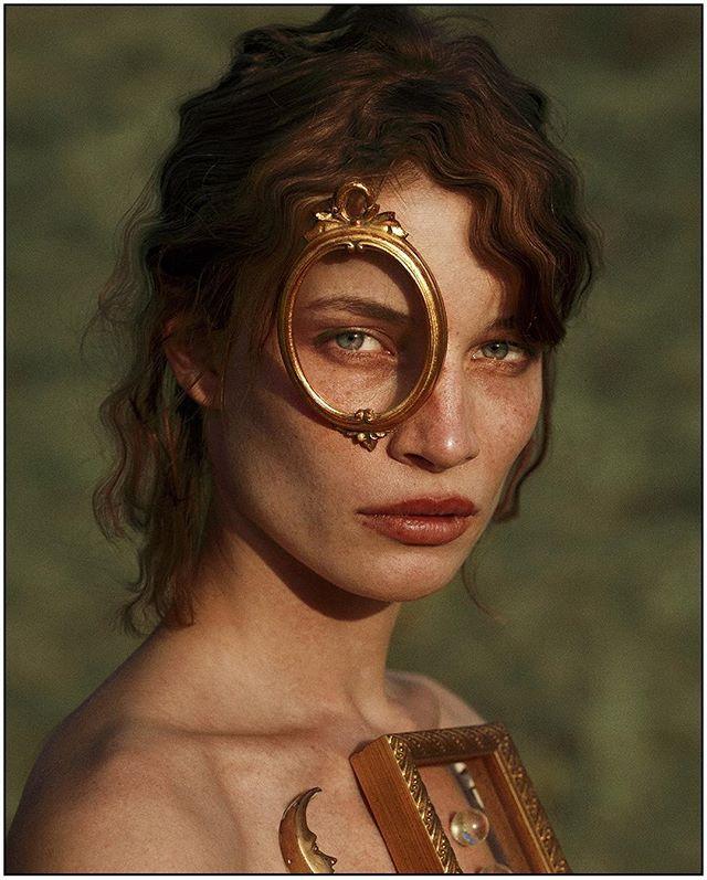 Portrait I detail;  The Manifestation of The Directed Will// Model: @laracooc  Assistant: @lorandlajos
