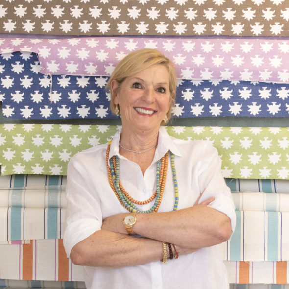 Mally Skok – Mally Skok Design - Mally Skok is a South African born designer who has run a residential and small commercial interior design firm in Lincoln, MA since 1997. In addition to her design projects, Mally's love of fabric, color and pattern led her to launch her fabric and wallpaper line in 2008. All of Mally Skok Design fabrics and wallpapers are hand-screened locally in Great Barrington, Massachusetts, and are represented in many prestigious showrooms throughout the US, and Canada. Mally is involved in several local organizations, including the Junior League of Boston Show House, Heading Home to Dinner, and the Emerson Umbrella Arts Association. Mally is also an active member of the Design Bloggers Conference Advisory Board.