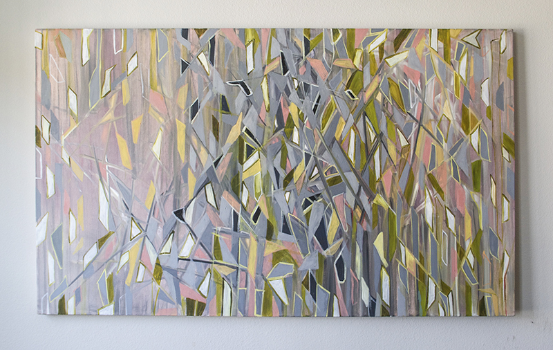 """Forest,"" oil on canvas, 2012, 36"" x 60"""