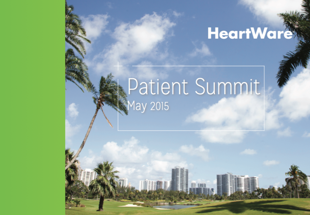 Patient Summit Booklet (Cover)