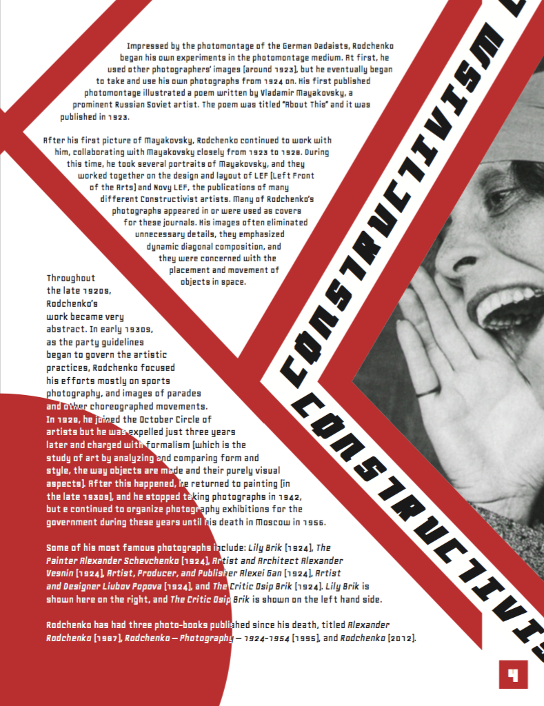 Magazine Spread Assignment (pg. 4)