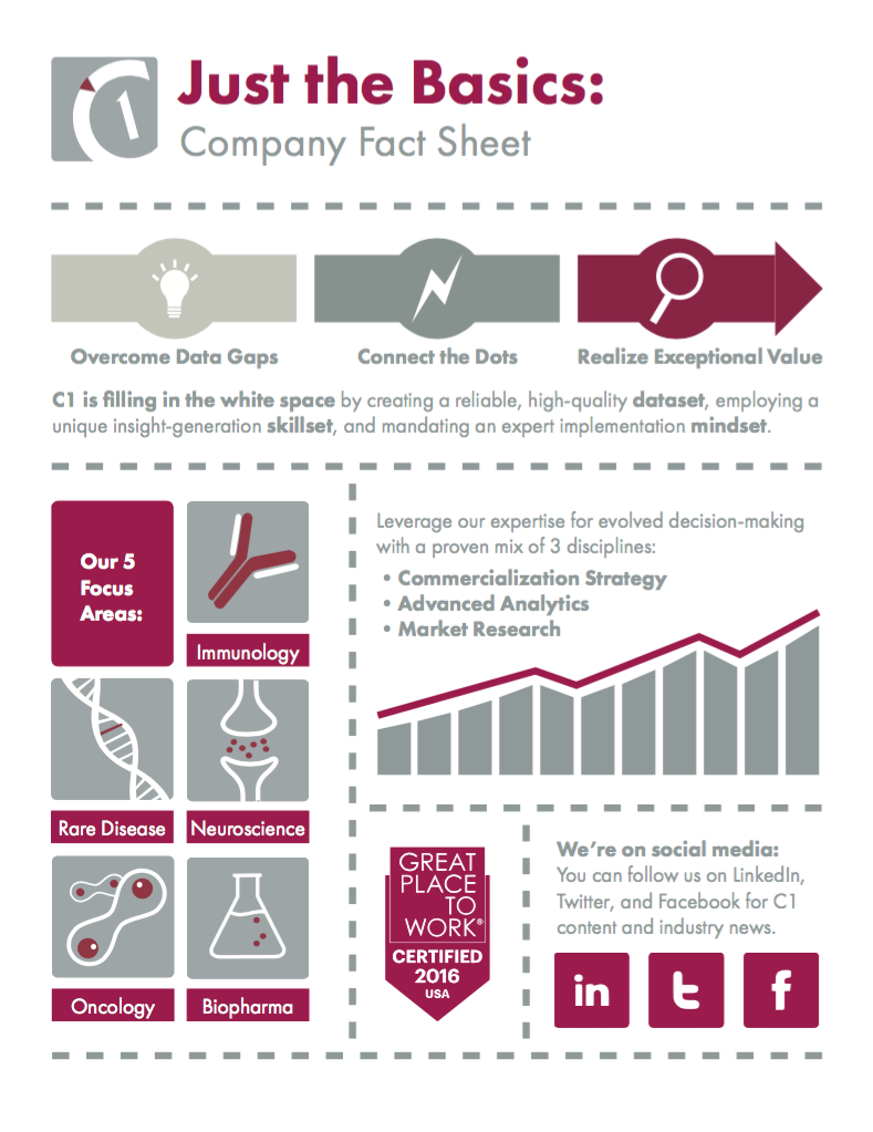 Company Infographic (Back)