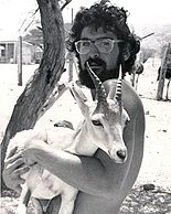 Assemblyman Katz as shown here during his early days as a field scientist and researcher with the World Wildlife fund