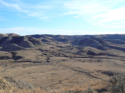 The austere beauty of North Dakota.