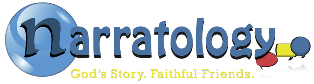 Narratology – God's Story. Faithful Friends.™ Clergy Stuff Confirmation Brand Image
