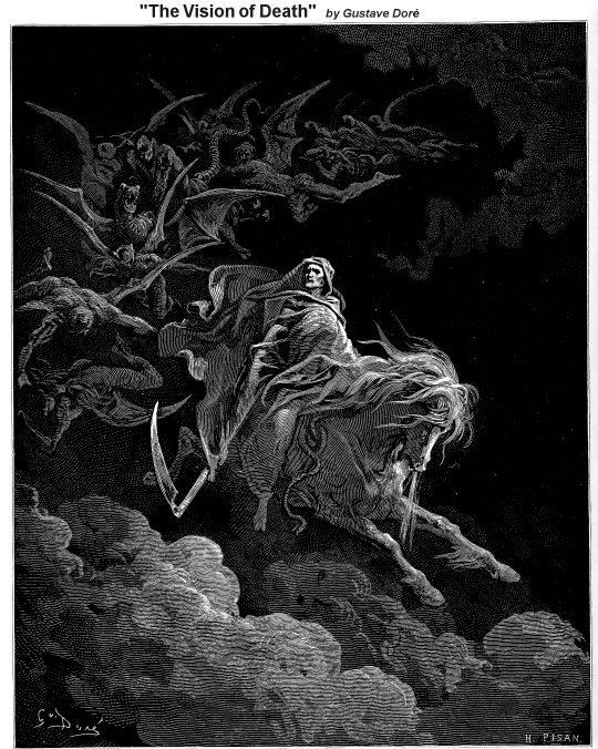 The Pale Horseman - Revelation Narrative Lectionary Vintage Image