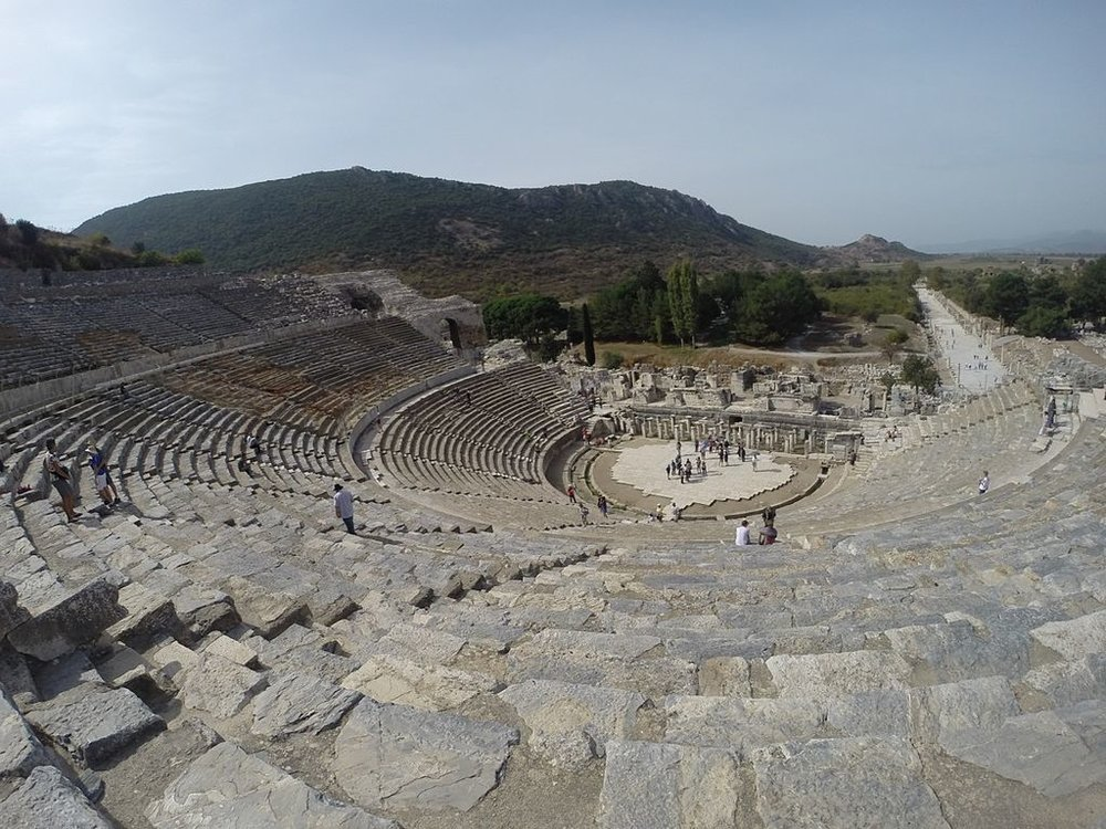 amphitheater at Ephesus