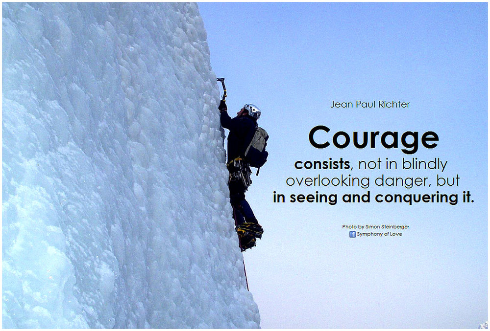 courage to do the right thing
