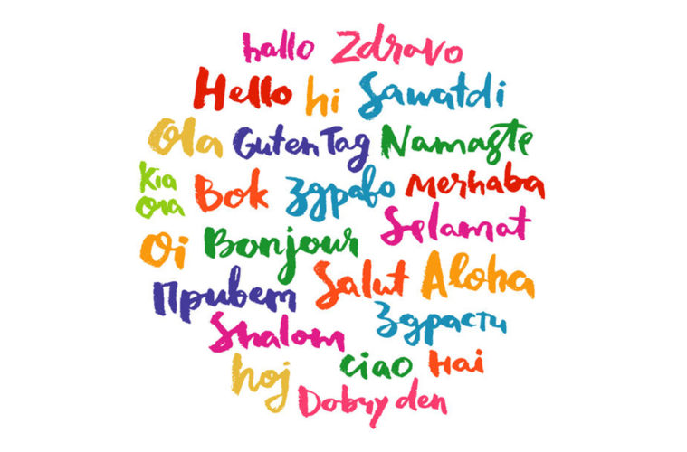 Many languages. Greetings. cc0