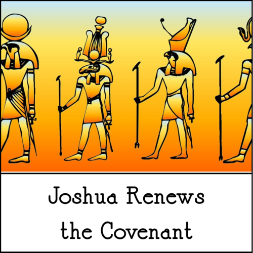 Joshua Renews Covenant Clergy Stuff Artwork