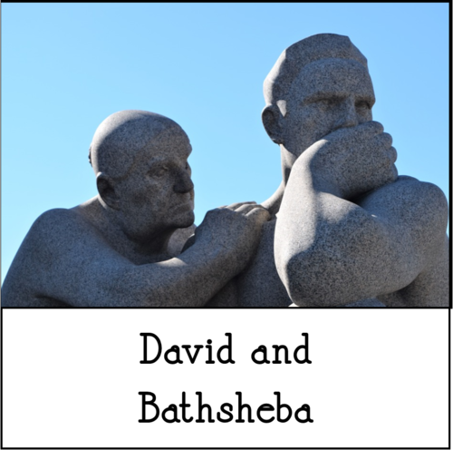 David Bathsheba Thoughtful Sculptures (cc0)
