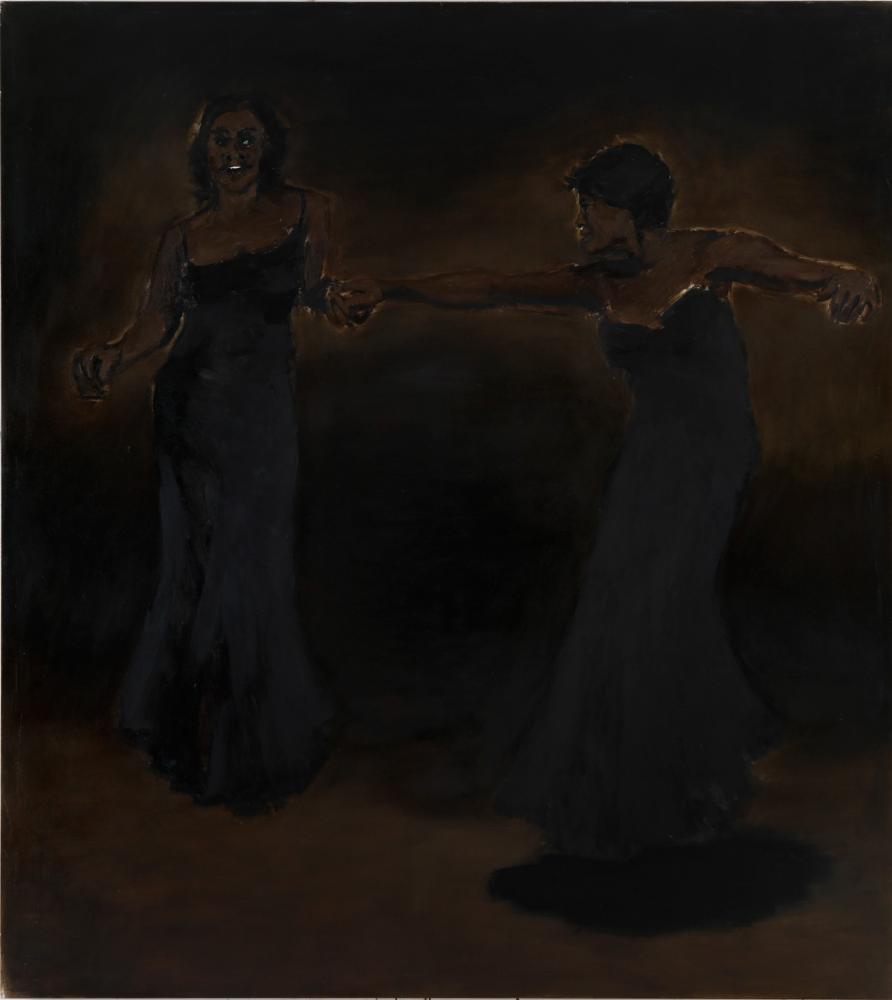 Half a Dozen Dead, 2010  Lynette Yiadom-Boakye  Oil on canvas  180 x 200 cm