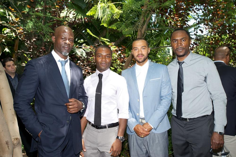 Djimon Hounsou, David Oyelowo, Jessee Williams, David Brooks.jpg
