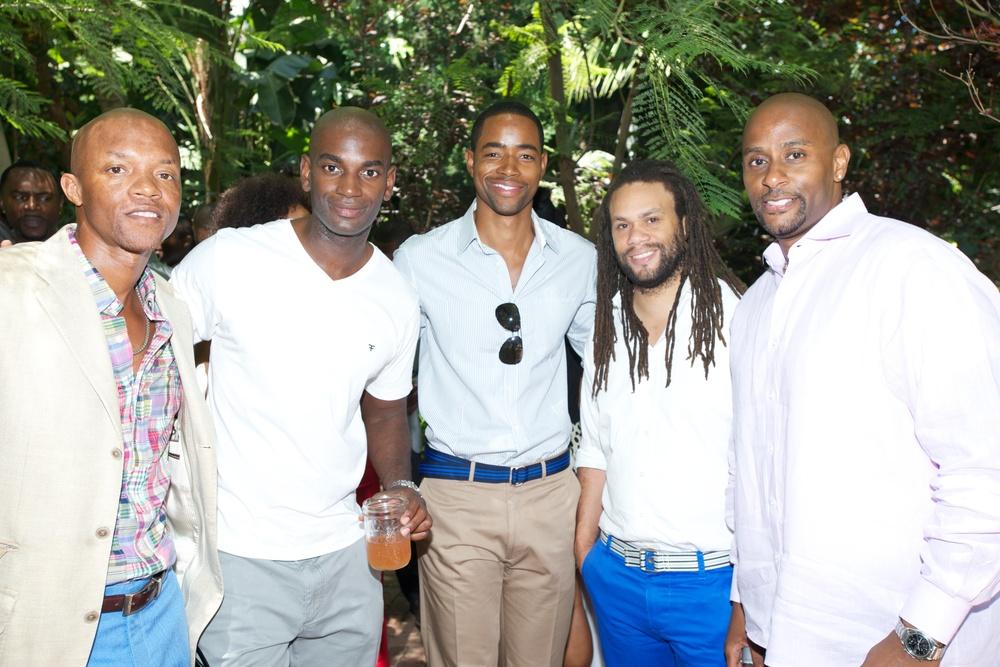 Tariq Muhammad Walker(AOL), Mo McRae, Jay Ellis, Franklin Leonard (The Blacklist), Graylind Wherry (Sony Digital).jpg