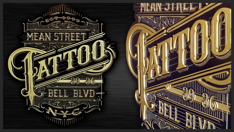 Hdu00004 art sign works for Street sign tattoos