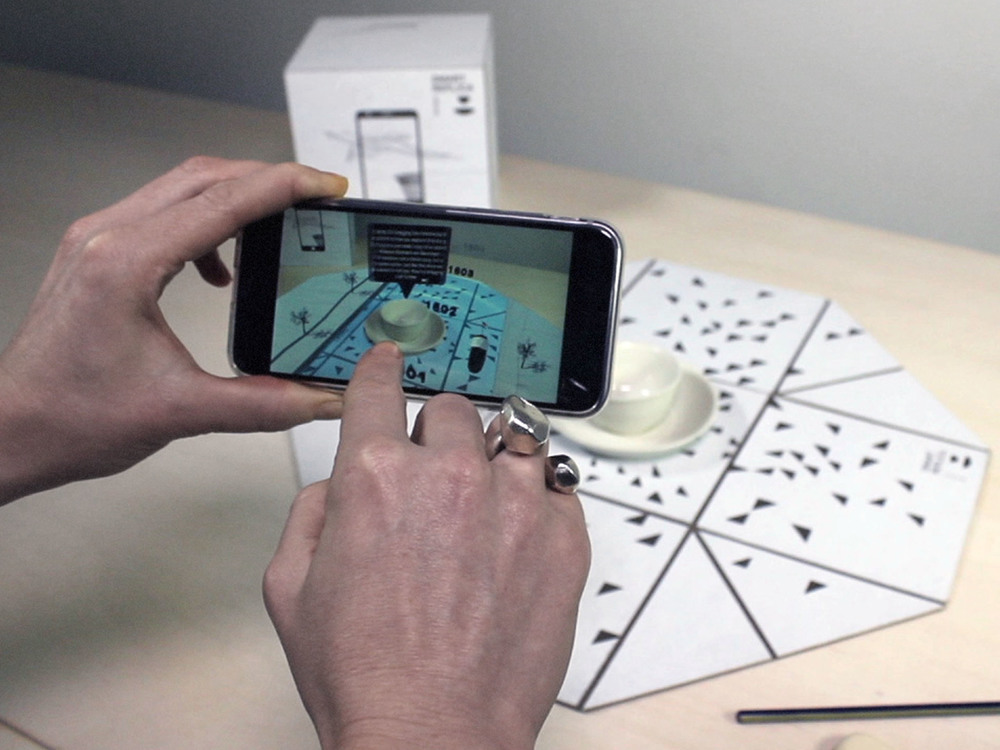 A story retold   Augmented reality brings history to life.