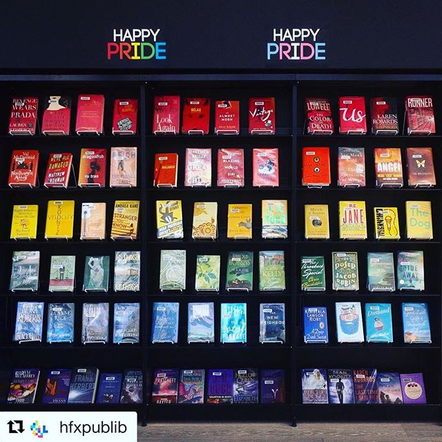 We're filled with 🌈pride 🌈to be hosting our Opening Night Gala at the Halifax Central Library, one week from today!