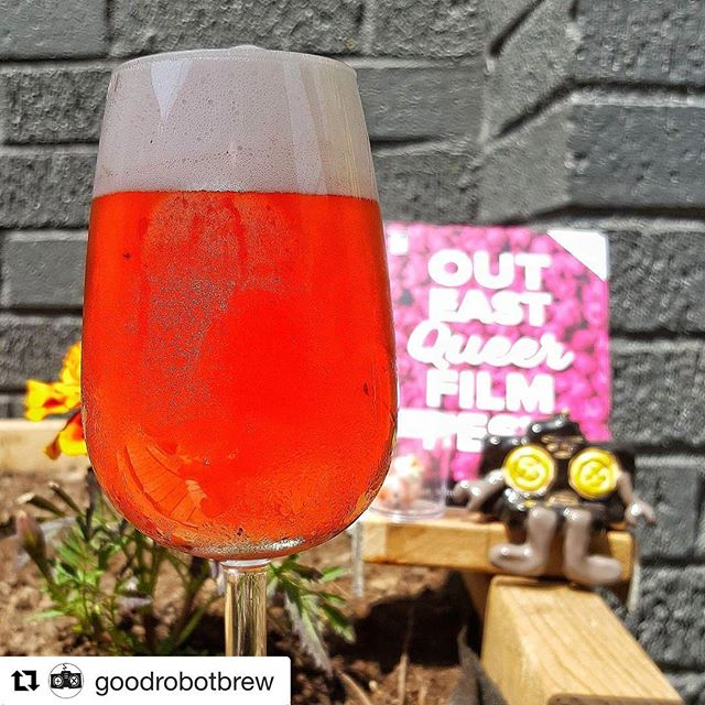 today's the day!! #Repost @goodrobotbrew with @repostapp ・・・ Today marks the first day of @outeastfilmfest and the return of the long-anticipated The Shocking Pink, our gose with pink lemonade and hibiscus tea. We're tapping it at noon with the folks from the fest, then we're off to Halifax Central Library for The Death and Life of Marsha P. Johnson, which follows the life and mysterious death of the legendary street queen of NYC's queer ghetto. . #nscraftbeer