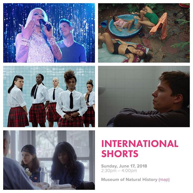 Good morning, #Halifax! Don't miss this stellar program of International Shorts at 2:30 PM TODAY! #outeast18