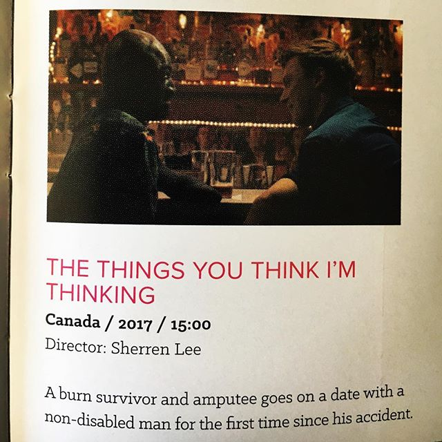 Just announced: Winner of the @outeastfilmfest 2018 Best Canadian Short prize: Sherren Lee's The Things You Think I'm Thinking ❤️🇨🇦🏳️‍🌈📽