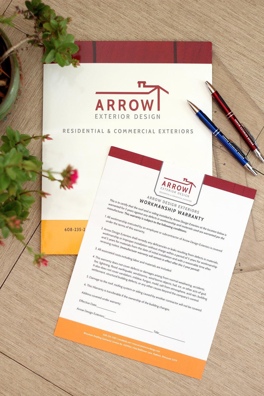 holly avenue designs madison arrow exterior design folder pen campaign