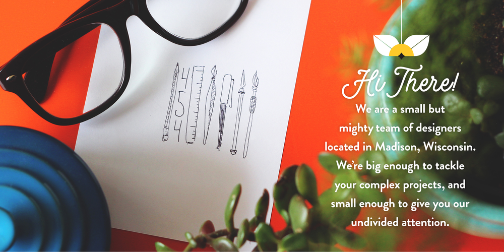 Small but mighty Madison Wisconsin Holly Avenue Designs graphic design