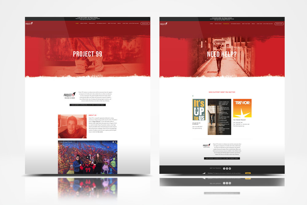 Project 99 Holly Avenue Designs web design website Madison Wisconsin