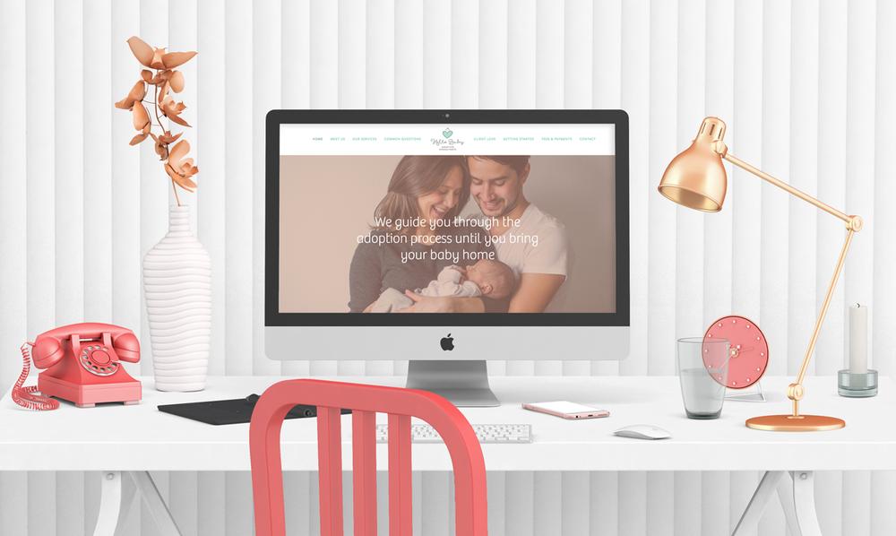 holly avenue designs hello baby adoption consultants website design