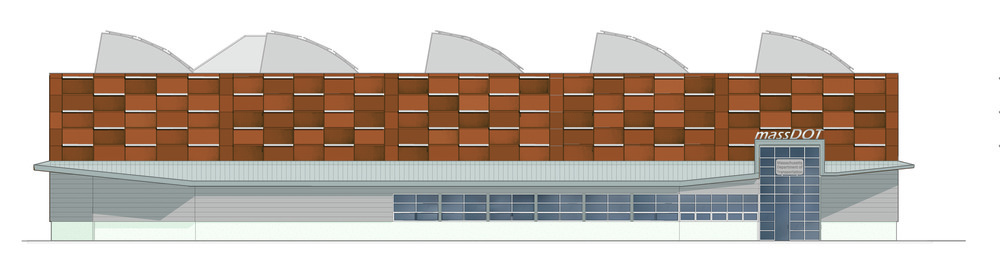 Shop Exterior Elevation