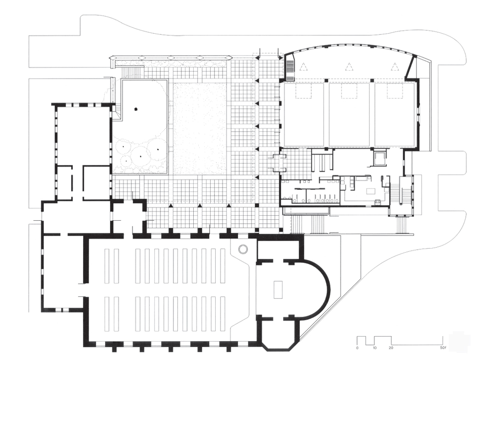 Grace and Holy Trinity Founder's Hall Plan