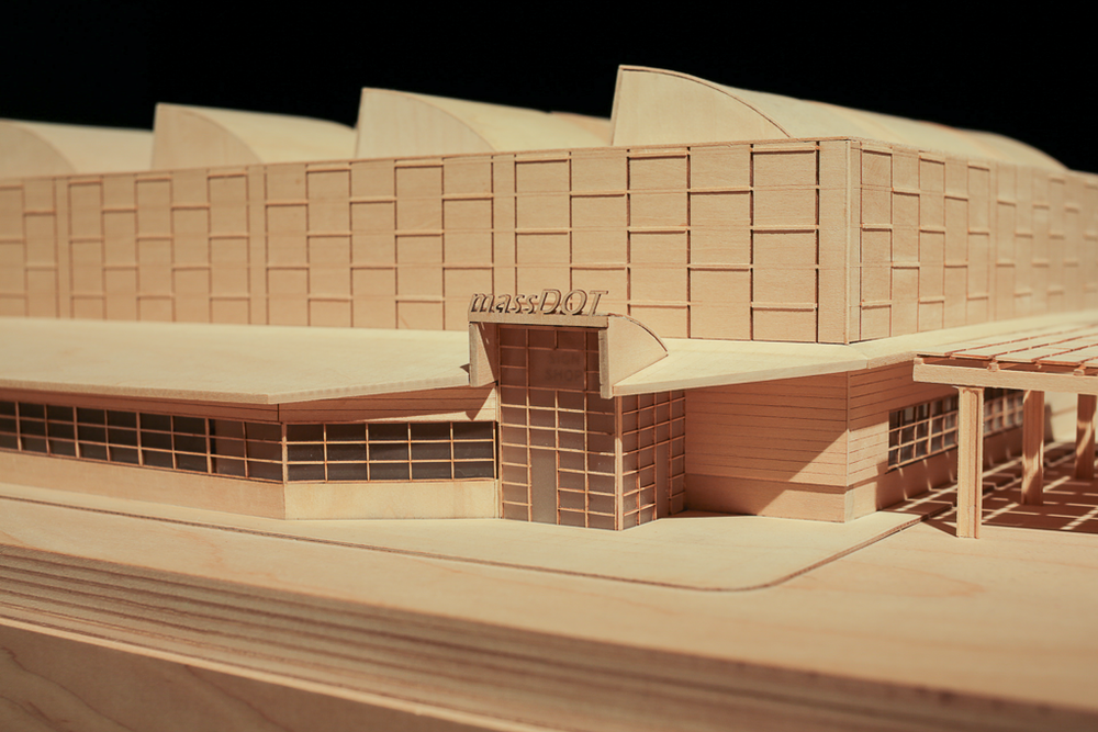 Model Showcasing Main Entrance
