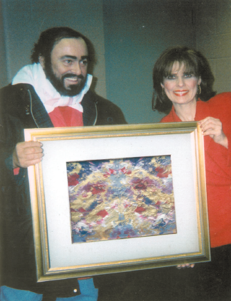 """Pavarotti With His """"Voice of an Angel"""""""